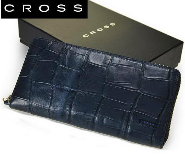 CROSS クロス ラウンドファスナー長財布 クロコダイル【メンズ】【レザー】【ウォレット】【父の日】【誕生日】【クリスマス】【バレンタイン】【プレゼント】 35-5040