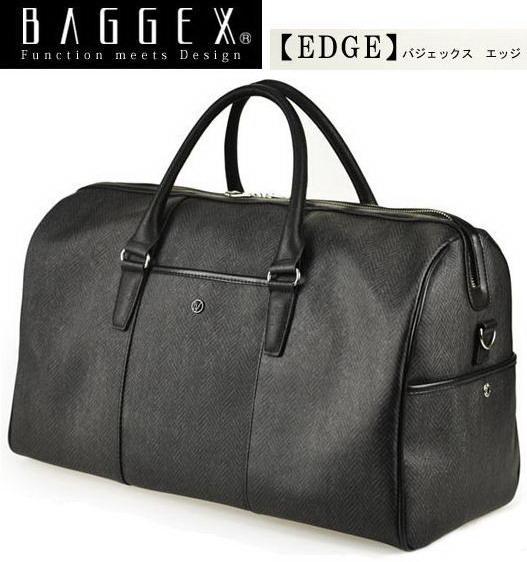 BAGGEX EDGE/バジェックス エッジ ボストンバッグ 03-5458 【日本製素材】【旅行】【出張】【通勤】【軽量】【ゴルフ】
