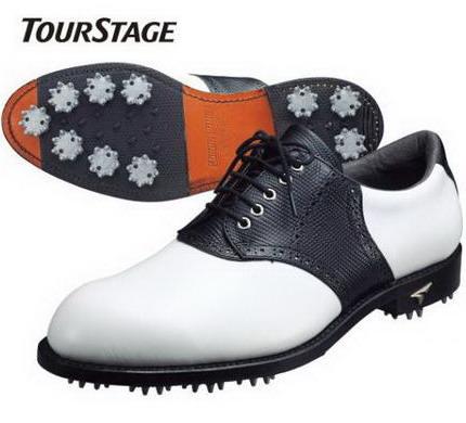 ブリヂストン ゴルフ BRIDGESTONE ツアーステージ TourStage ゴルフシューズ 革底モデル SHTX01 お得,低価