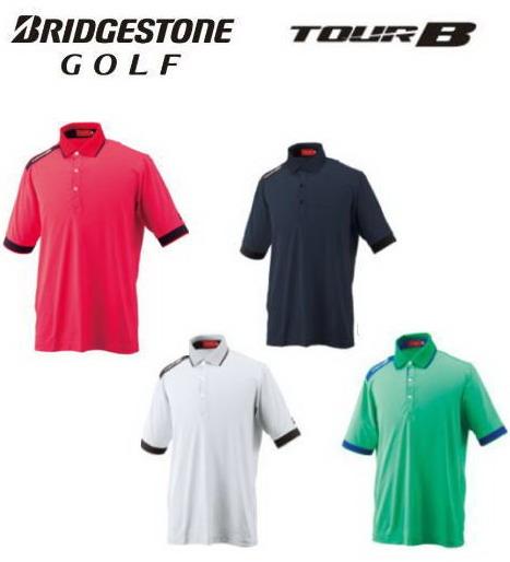 【オウンネームが刺繍で入る】ブリヂストン ゴルフ/BRIDGESTONE GOLF 半袖ポロシャツ FGM31A