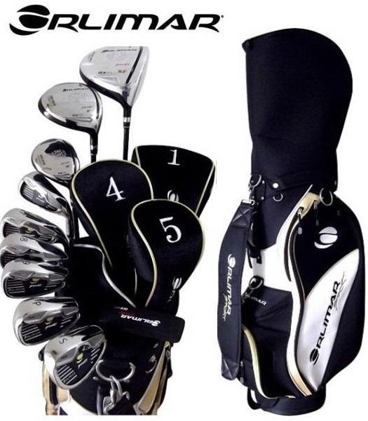 附带ORLIMAR/orima 10部高尔夫球杆套装高尔夫球场服务员包的ORM900