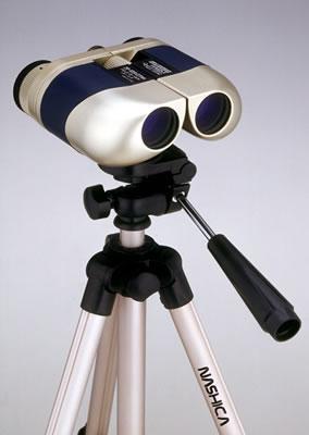 ナシカ NASHICA 110倍コンパクトズーム双眼鏡 20~110倍 ケース付 10倍双眼鏡+ナシカ3ウェイヘッド付EV4段三脚付