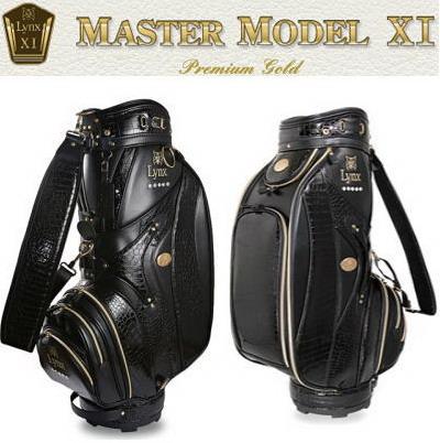Lynx リンクス マスターモデル MASTER MODEL XI Premium Gold キャディバッグ