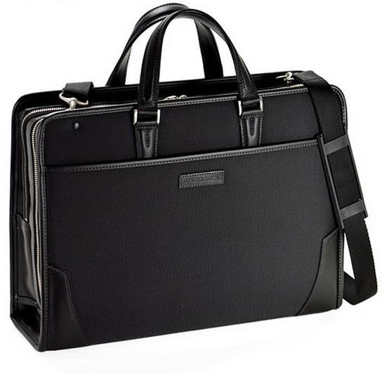 MEN'S CLUB/メンズクラブ ブリーフケース ビジネスバッグ 2室式 B4 A4F 42cm 2way 【平野鞄 】22283