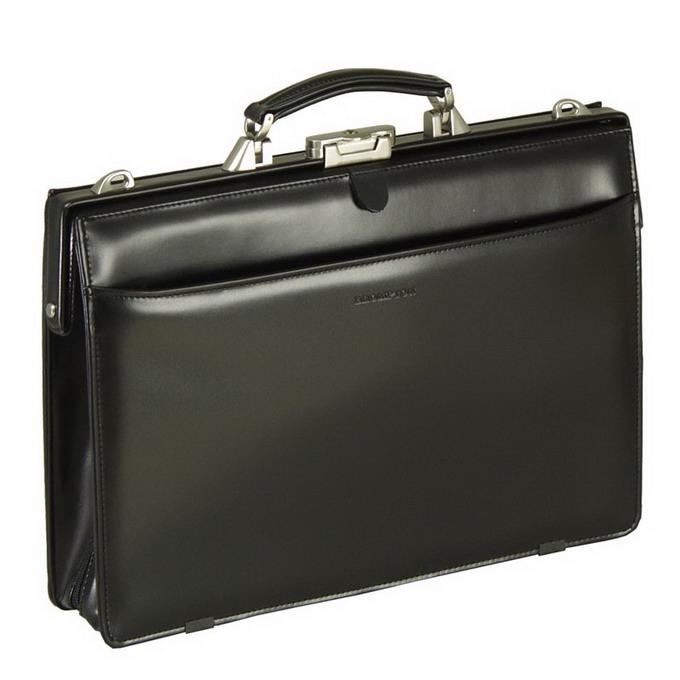BROMPTON/ブロンプトン 大口開 ダレスボストンバッグ B4 42cm  【平野鞄 】22171