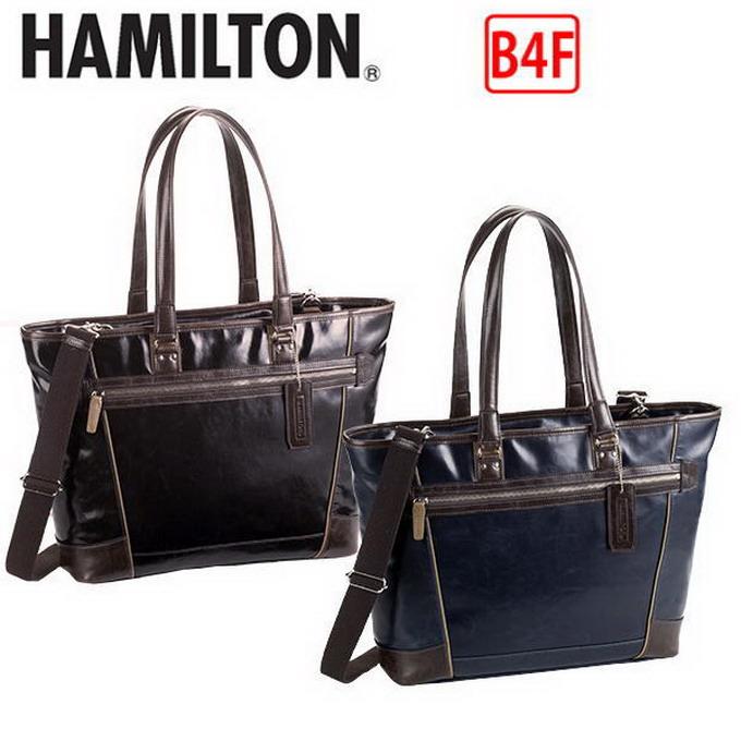 HAMILTON/ハミルトン ビジネストートバッグ ビジネスバッグ B4F A4F 37cm  【平野鞄 】53405