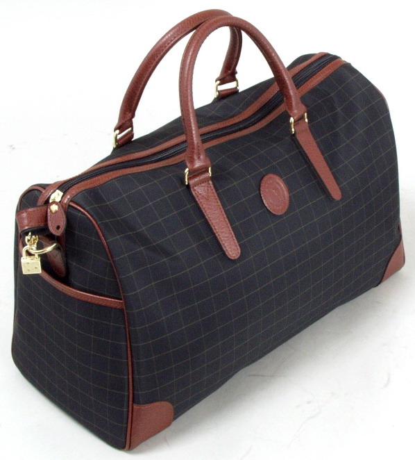 CACCIATOPE/カチャトーレ チェックボストンバッグ 11923 【平野鞄】