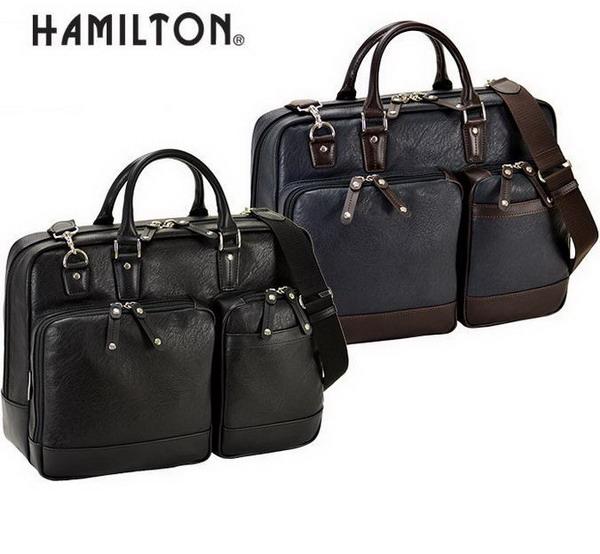 HAMILTON/ハミルトン メンズ ブリーフケース B4 A4 2way  26627