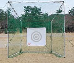 【送料無料】ゴルフ ネットセット ゲージ型(デラックスLL)