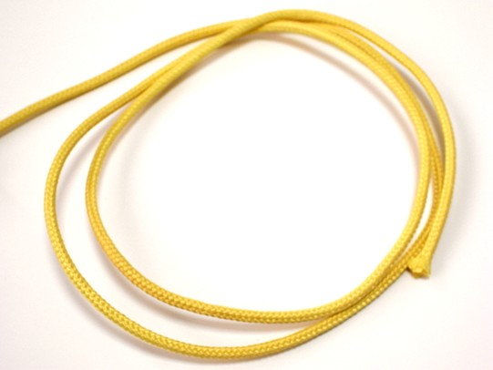 ケブラー100%コード 5%OFF 太さ径約4.0mm 1m単位切り売り 引張強度約5950N 毎日続々入荷 スーパー繊維