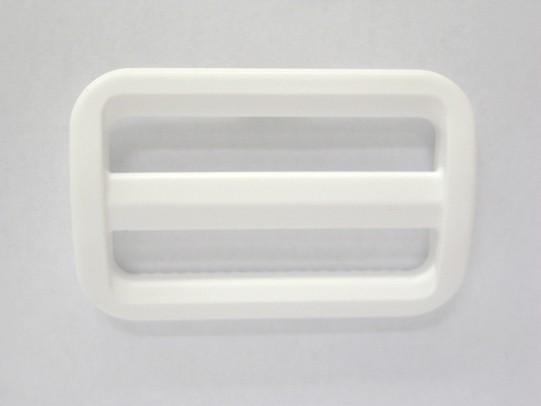 YKK LA50S プラスチック アジャスター 50mm巾用 ベルトの長さ調節などに 永遠の定番モデル 新作入荷 白