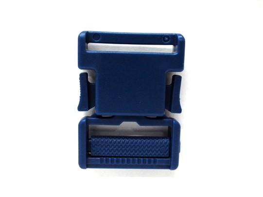 アウトレットセール 特集 YKK LB30S プラスチック バックル 30mm巾用 贈り物 ベルトの長さ調節などに 紺