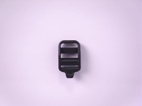 YKK LK15E プラスチック コキカン 15mm巾用 黒 返品交換不可 卓抜 ベルトの長さ調節などに
