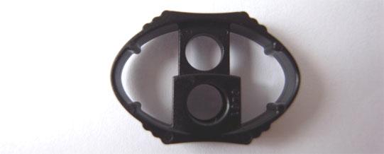 1個お試し送料無料 NIFCO ニフコ 特価品コーナー☆ 超人気 専門店 CL61 プラスチック コードストッパー 1つ穴タイプ 定形外郵便発送 直径約4mm用