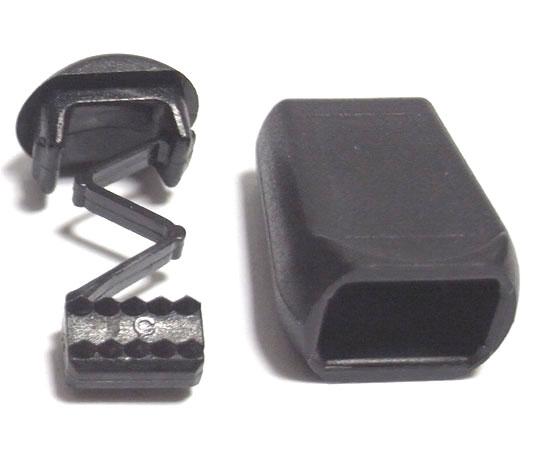 NIFCO ニフコ TS8 プラスチック 約7mm巾用 テープの端に ベルト ベルトエンドストッパー 公式ストア 人気急上昇