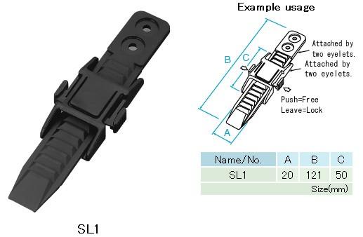 3個セット セール NIFCO ニフコ 送料無料 レールバンド付バックル 迅速な対応で商品をお届け致します SL1