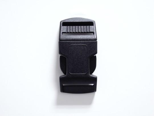 3個セット WEB限定 NIFCO ニフコ 当店限定販売 SRC25 プラスチック 黒 送料無料 25mm巾用 バックル