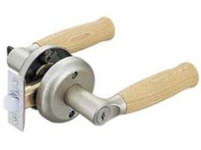 マツ六 0126-4104 FR 兼用レバー取替錠 鍵付間仕切錠 キー3本付