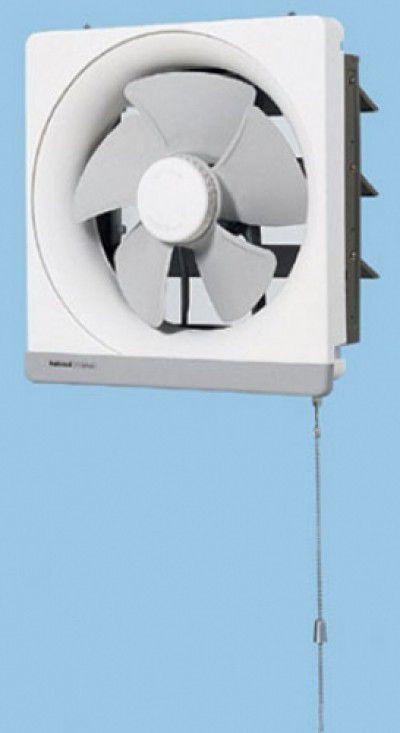 パナソニック 埋込寸法25cm角 台所用 金属製 換気扇【FY-20PM5】排気 強-弱:引きひも連動式シャッター
