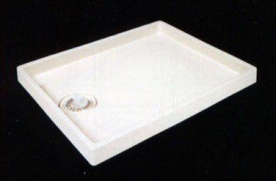 テクノテック TS-800 洗濯機 防水 パン 透明排水トラップ付 【代引不可】