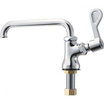 三栄水栓 A5310-13 単水栓立形自在水栓 立形ツル首自在水栓