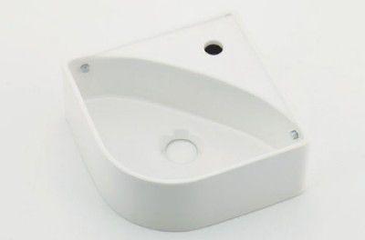 カクダイ 493-150-W 壁掛手洗器ホワイト【代引不可】