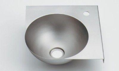 カクダイ 497-028 ボウル一体型コーナーカウンター 鉄穴(かんな) 【代引不可】