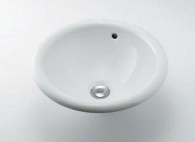 カクダイ DU-0318400000 丸型洗面器 【代引不可】