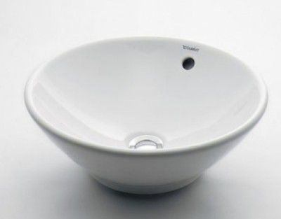 カクダイ DURAVIT(デュラビット)丸型洗面器 DU-0325420000 【代引不可】