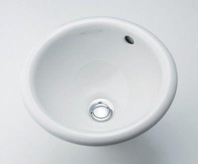 カクダイ DURAVIT(デュラビット)丸型手洗器 DU-0473340031 【代引不可】