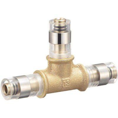 三栄水栓 T660J-3-16A 配管用品給水・給湯用架橋ポリエチレン管 チーズ