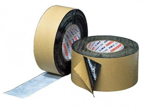 8巻入 FHB100W 防水・防湿粘着テープ ハイブリッド防水テープ 両面タイプ 100W フクビ化学工業 【代引不可】