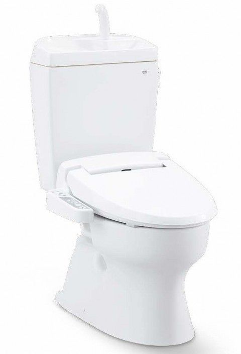 ジャニス工業 バリュークリンII 床排水用 便座(普通便座)・手洗無しタンク付 寒冷地仕様 【SC8090-SGC+NC822W-1】