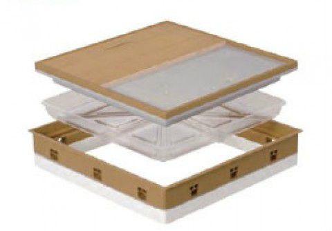城東テクノ 高気密型床下点検口 SPF-R60F12-UA1-IV アイボリー (断熱型)