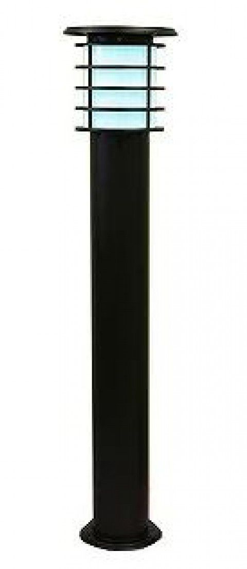 システック ソーラーポールライト 100cmモデル 本体ブラック 白色 SPL-10-WHB