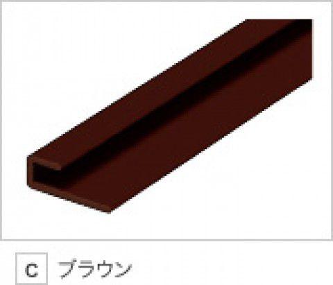 日本デコラックス 樹脂製ジョイナー ブラウン 出隅用パニート造作材 L2730mm JJDC