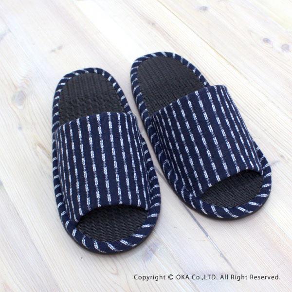Tokuyasu Mat Mart Bincho Charcoal Slippers Large Size I