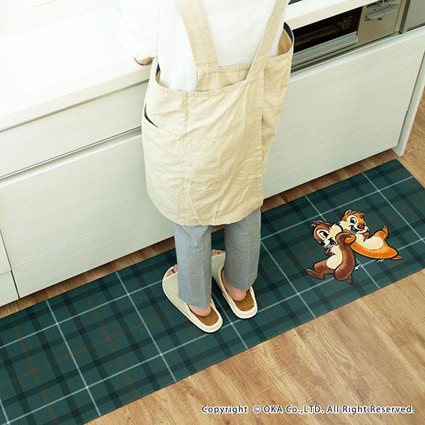 ディズニー拭いてお手入れするキッチンマット