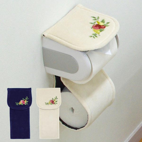 japanese toilet paper holder. Fruit chorus toilet paper holder cover  washable tire Japan made toiletry fruit Germany Nordic Wilton Belgium luxury TOKUYASU Mat Mart Rakuten Global Market