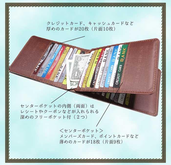 東京アンティーク 40枚入る カードケース 花のイニシャル 大容量 レディース カード入れ コンパクト 薄型 ポイントカード アンティーク レトロ うすい 薄い 沢山入る たくさん クレジットカード 人気 おすすめ ★