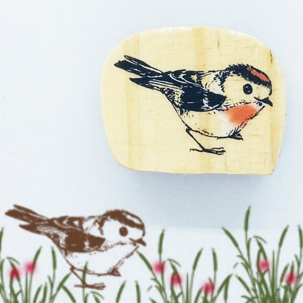 大人のスタンプ 東京アンティーク 森の動物 ワンポイント 与え メール便OK スタンプ小鳥 はんこ 輸入スタンプ 推奨