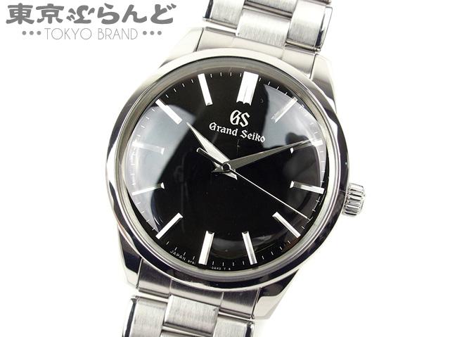 セイコー SEIKO グランドセイコー Grand Seiko メンズ腕時計 SBGX321/9F61-0AG0 黒文字盤 QZ SS 送料無料【中古】20SS-4-a  900008173