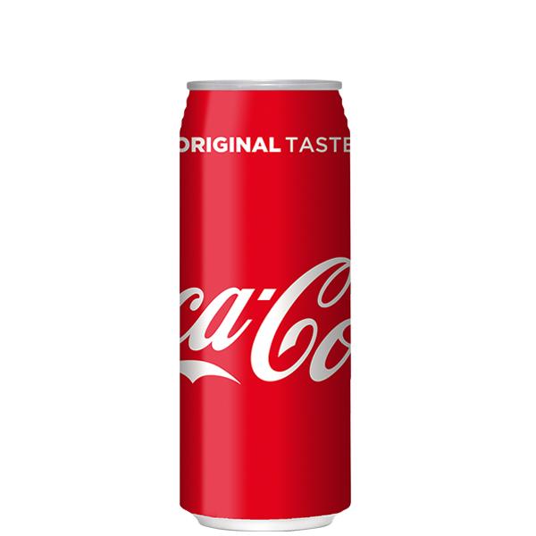 コカ・コーラ 500ml缶 【※コカコーラ製品以外は別途送料がかかります。同時注文の場合、後程追加送料のご請求がございます。】