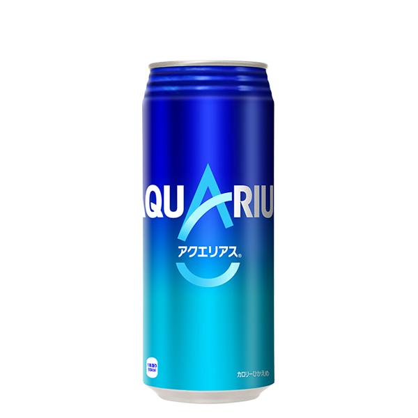 アクエリアス 500ml缶 【※コカコーラ製品以外は別途送料がかかります。同時注文の場合、後程追加送料のご請求がございます。】