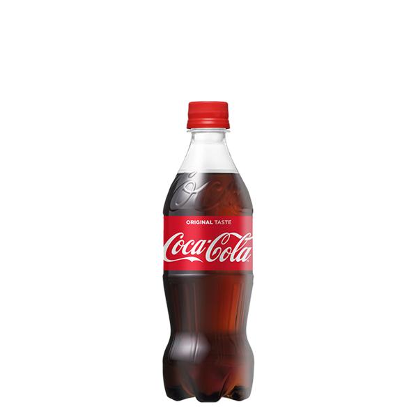 コカ・コーラ 500mlPET 【※コカコーラ製品以外は別途送料がかかります。同時注文の場合、後程追加送料のご請求がございます。】
