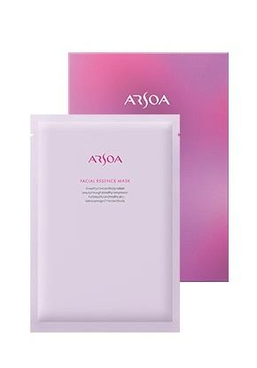 ARSOA アルソア フェイシャルエッセンスマスク (30ml×1枚)×5包[スキンケア 保湿パック シートパック]]