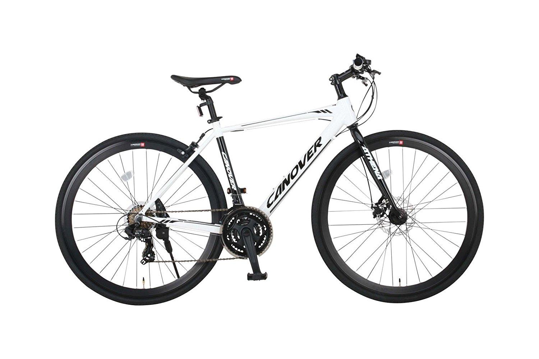 カノーバー クロスバイク CAC-027-DC (ATENA) フロントディスクブレーキ アルミフレーム [20,000円(税抜)以上で送料無料][ロッカー受取不可]
