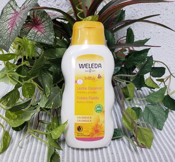 WELEDA ヴェレダ カレンドラ ベビーミルクローション 200mlベビー用乳液 絶品 保湿 ついに再販開始 洗浄 敏感肌 ボディー フェイス両用