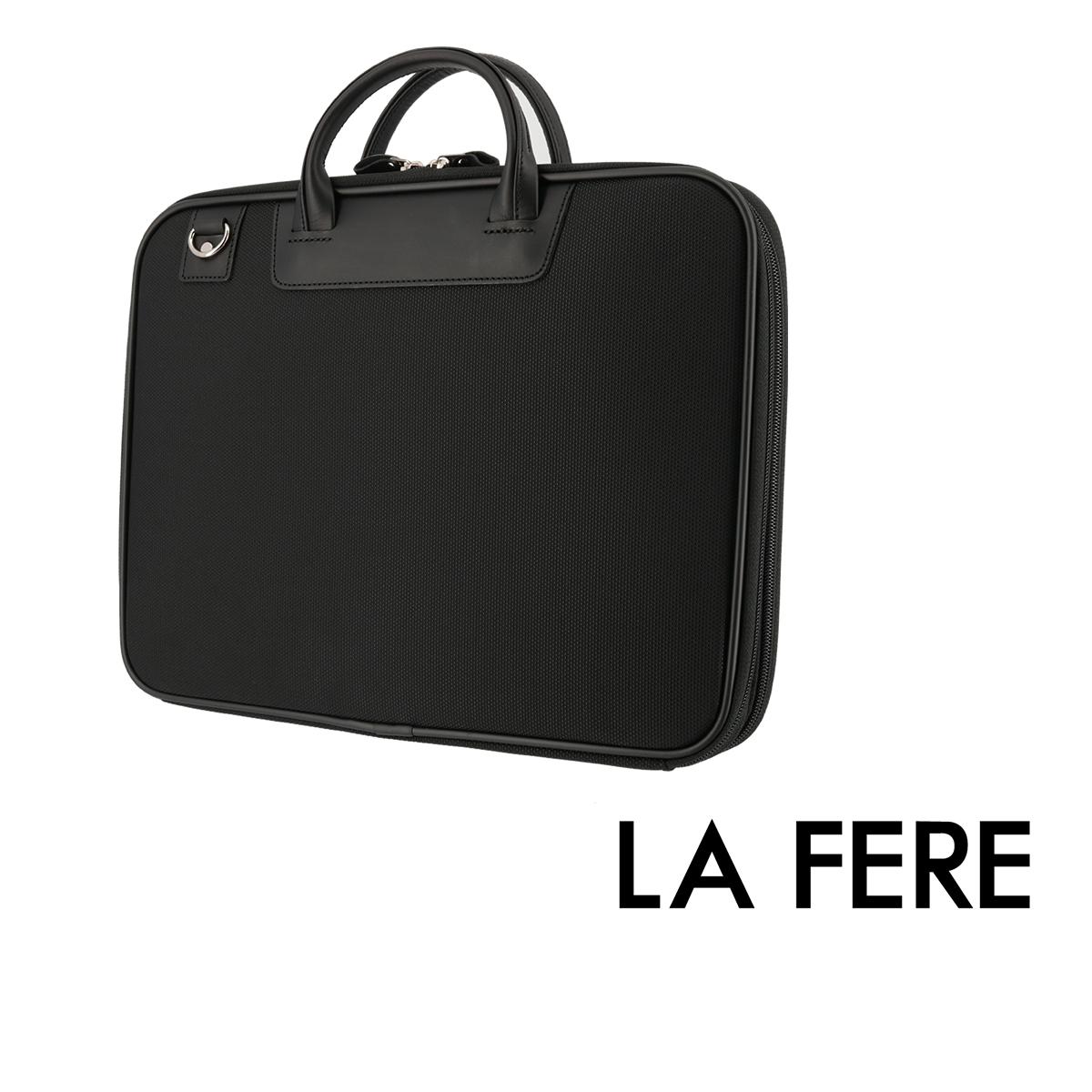 青木鞄 ラフェール ブリーフケース オプス 6717  LA FERE ビジネスバッグ メンズ 日本製 中空糸ナイロン[bef]