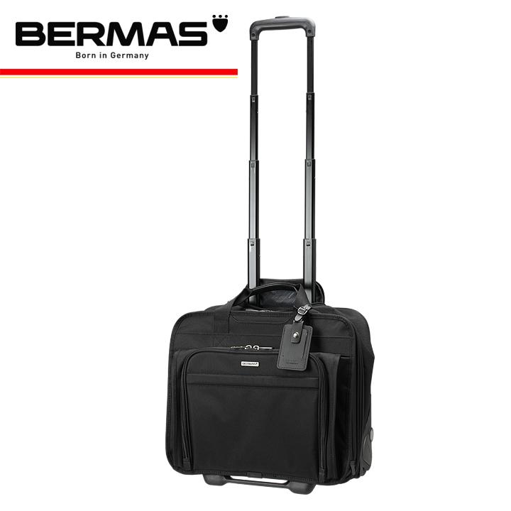バーマス スーツケース 60428 40cm ブラック 【 BERMAS ビジネスキャリー キャリーケース キャリーバッグ 】【 機内持ち込み可 】[bef]